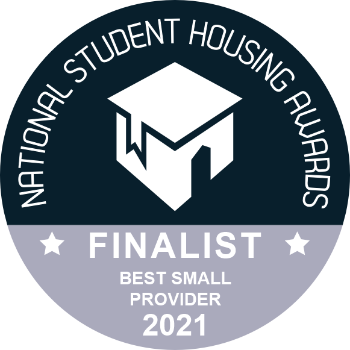 National Student Housing Awards - Finalist for Best Small Provider 2021