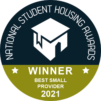 National Student Housing Awards - Winner for Best Small Provider 2021