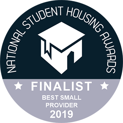 National Student Housing Awards - Finalist for Best Small Provider 2019